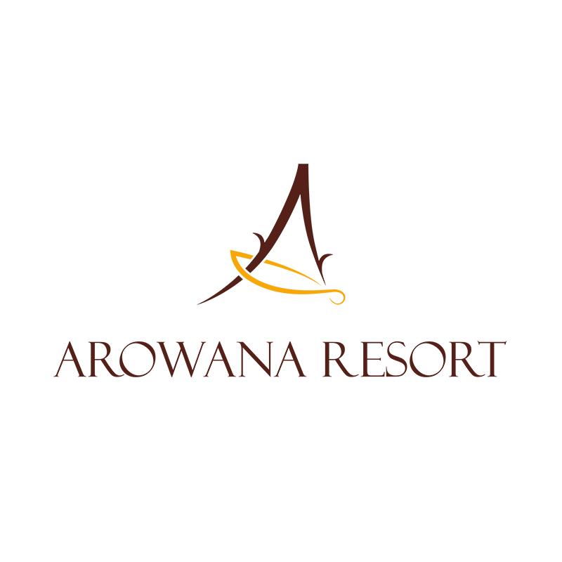 logo arowany resort