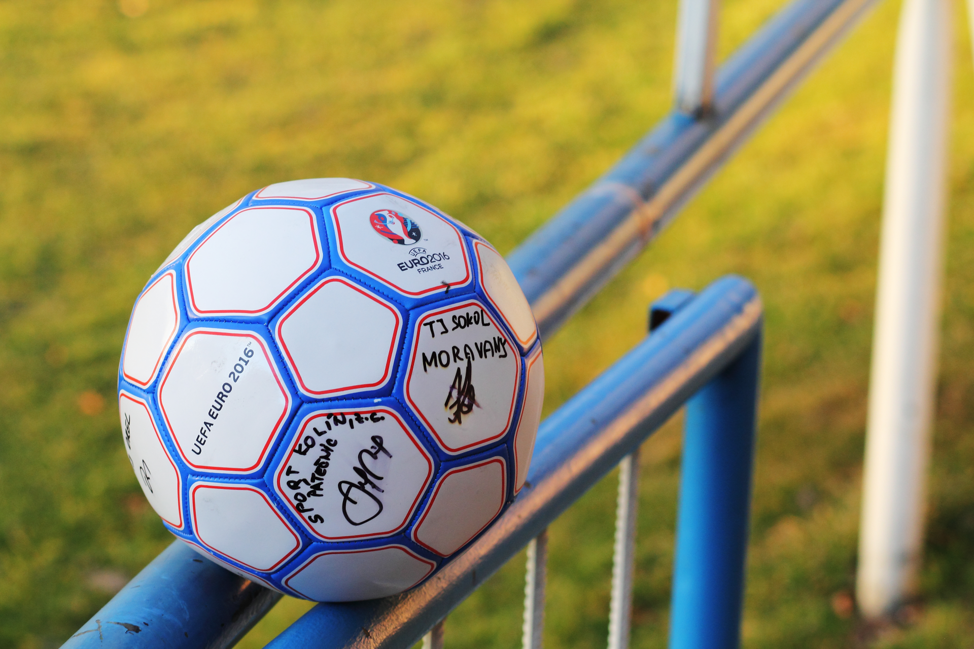 Foto TJ Sokol Moravany fotbalový míč