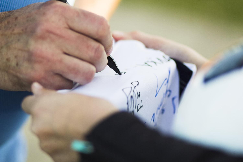 podpis dresu