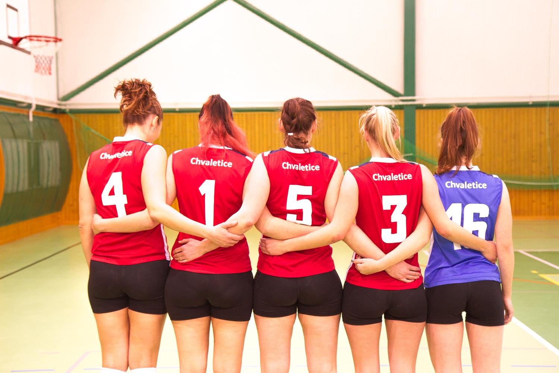 hráčky volejbalu 2